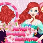 Ariel's Wedding Hairstyles