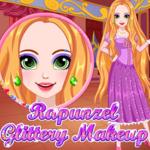 Rapunzel: Glittery Makeup