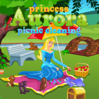 Princess Aurora: Picnic Cleaning
