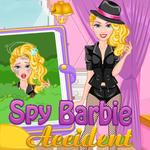 Spy Barbie Accident