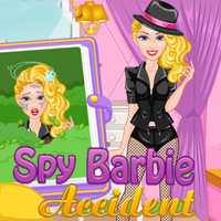 Spy Barbie Accident