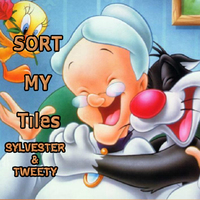 Sort My Tiles: Sylvester & Tweety