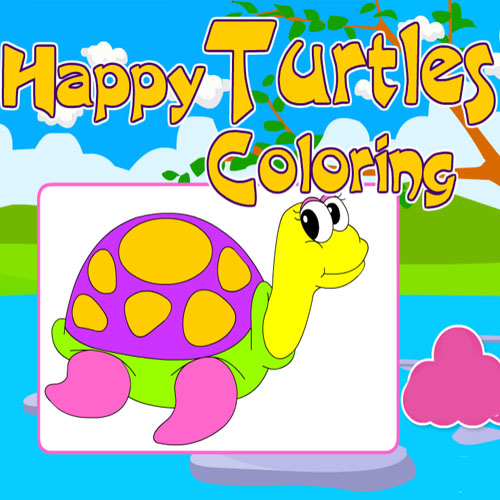 Happy Turtles Coloring