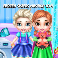 Frozen Sisters: Washing Toys