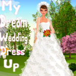 My Dream Wedding Dress Up
