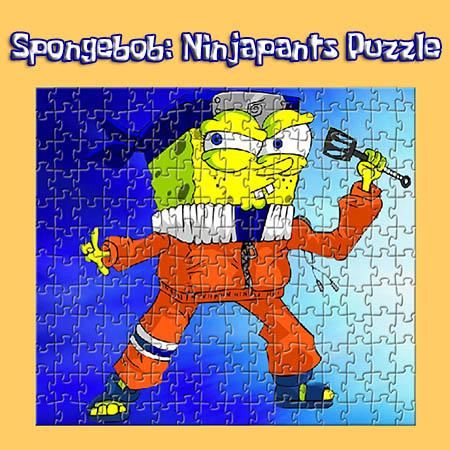 SpongeBob: Ninjapants Puzzle