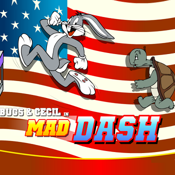 Bugs  & Cecil in Mad Dash