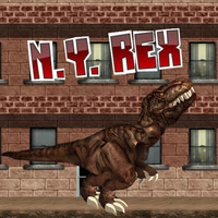 Tendances des jeux,The long awaited sequel to LA Rex is finally here! NY Rex welcomes back the most dangerous city smashing, people eating, car crushing dinosaur any man has ever seen. This fierce t-rex was captured after his rage in Los Angles and was brought to New York City to be killed. As he was being delivered he broke free from his chains and started a new rampage in the big Apple!
