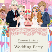 Frozen Sisters: Wedding Party