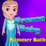 Frozen Baby: Summer Bath