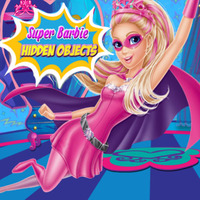 Super Barbie: Hidden Objects