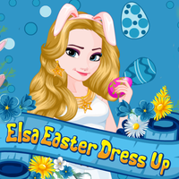 Elsa: Easter Dress Up