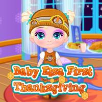Baby Elsa: First Thanksgiving