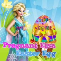 Pregnant Elsa: Easter Egg