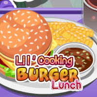 Lil' Cooking: Burger Lunch
