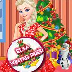 Elsa: Winter Prep