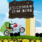 Stickman: Jim Bike