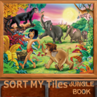 Sort My Tiles: Jungle Book