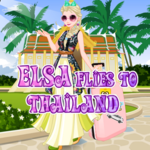 Elsa Flies To Thailand
