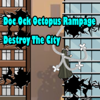 Doc Ock Octopus Rampage Destroy The City