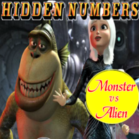 Hidden Numbers Monster Vs Alien