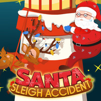 Santa Sleigh Accident