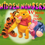Hidden Numbers Winnie the pooh