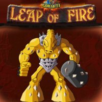 Gormiti Leap Of Fire