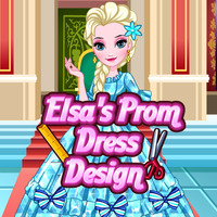Elsa's Prom Dress Design
