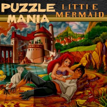 Puzzle Mania Little Mermaid