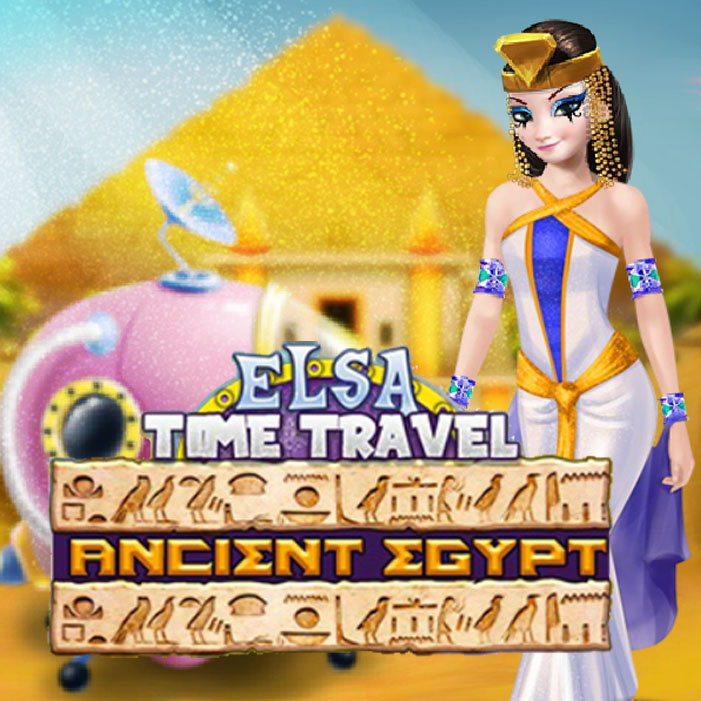 Elsa Time Travel Ancient Egypt