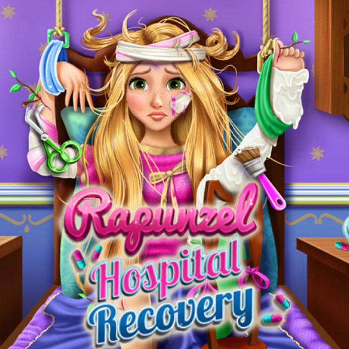 Rapunzel Hospital Recovery