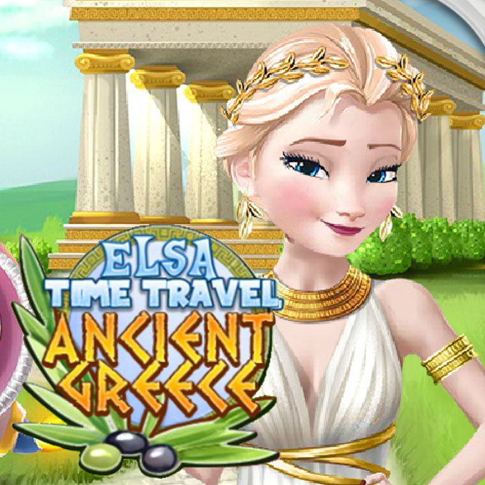 Elsa Time Travel Ancient Greece