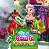 Elsa Realife Shopping