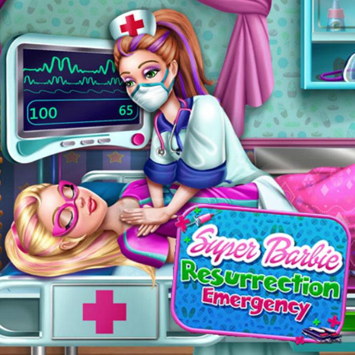 Super Barbie Resurrection Emergency