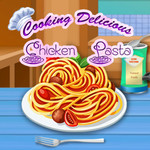 Cooking Delicious Chicken Pasta