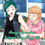 Manga Creator School Days Page 18