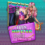 Tris Hipster Dolly Dress Up