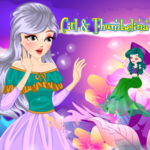 Girl & Thumbelina
