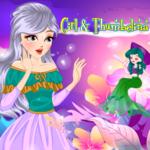 Girl & Thumbelina