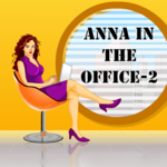 Anna in the Office 2