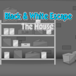 Black & White Escape The House