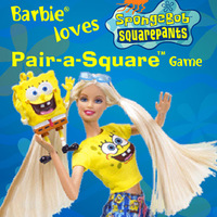 Spongebob Squarepants: Barbie Loves Pair-a-Square Game