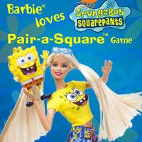 Spongebob Squarepants: Barbie Loves Pair-a-Square Game