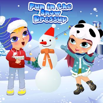 Fun in the Snow Dressup