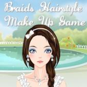 Braids Hairstyle Make Up game