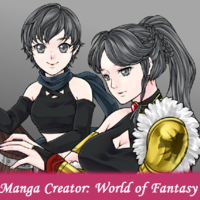 Manga Creator World of Fantasy