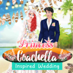 Princess Coachella Inspired Wedding