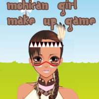 Mohican Girl Make Up Game