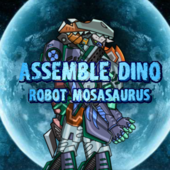 Assembel Dino Robot Mosasaurus